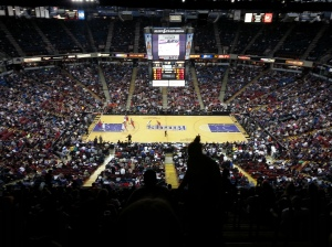 View of Sleep Train Arena